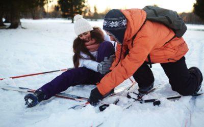 Úraz na lyžích z viny druhého